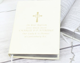 Gold Holy Bible - Eco-friendly (Available in Silver also)