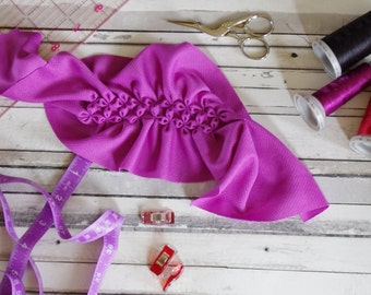 Cloth Pad Pattern Gushy Pad smocking Sewing tutorial Post Partum Pad PDF Sewing Pattern