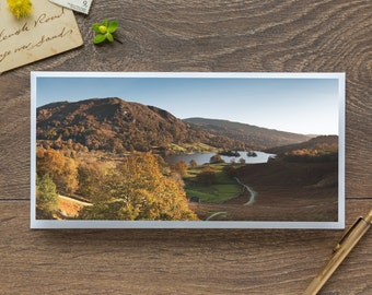 Rydal in Autumn - Single Blank Card / Birthday / Notelet / Thank You