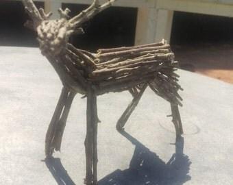 Wooden Twig Deer