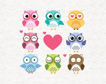 Owl cushion cover and insert