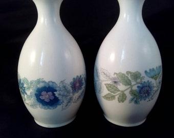 Wedgwood Clementine Bud Vase's.