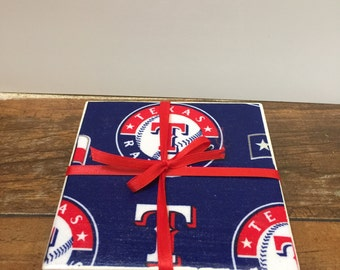 Texas Rangers Coasters