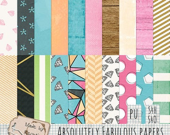 Absolutely Fabulous Papers