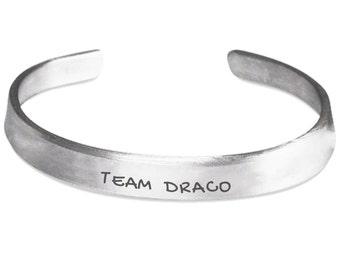 Bracelet-Team Draco-Potter Fan Team Draco Tribute Bracelet