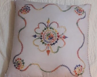 Embroidered Pillow Slip