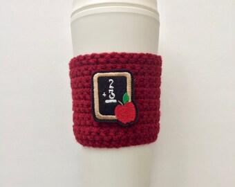 Chalkboard cup cozy