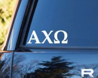 Alpha Chi Omega Decal