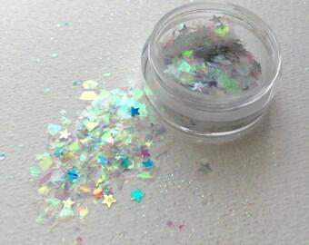 Sea Queen Face Glitter - Festival - Party