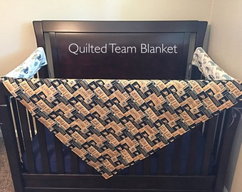 Quilted Team Baby Blanket