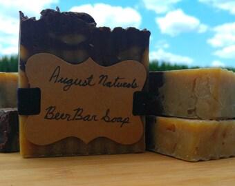 Shiner Bock Beer All Natural Bar Soap