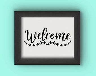 Welcome (Digital Printable)