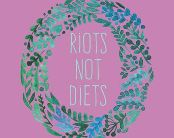 Feminist Patch Riots Not Diets Patch