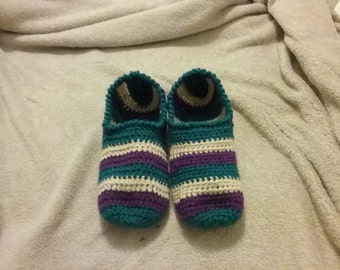 Hand Crocheted Slippers