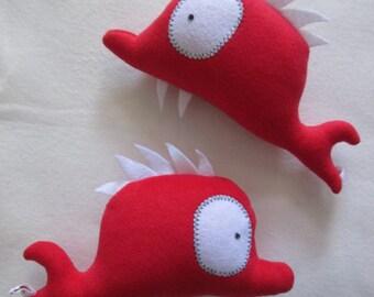 Plush red Firmin