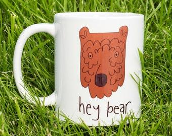 hey bear mug