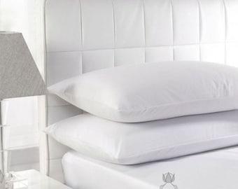 "Environmentally friendly, classic style 30 percent duck down / 70 percent feather pillow ""Gabija"""