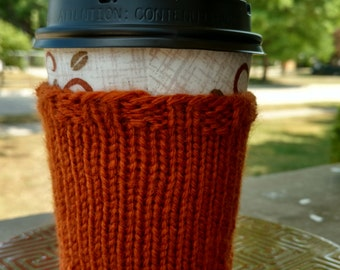 Coffee Cozy: Orange