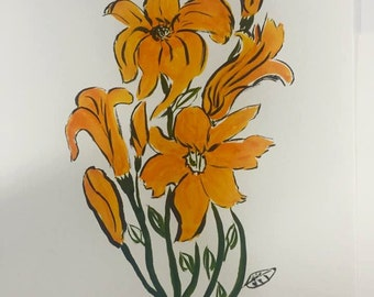Day Lilies #13