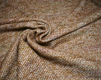 Woven fabric with virgin wool, very loose and soft