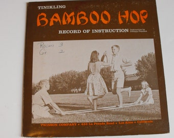 Bamboo Hop Record of Instruction Vintage School Gym Class Album    (490)