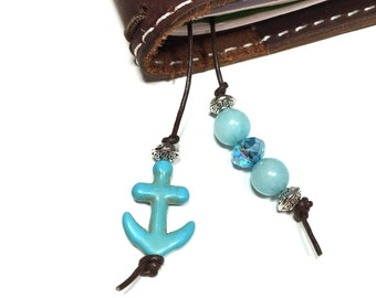 Traveler's Notebook Bookmark - Anchor  - sku4