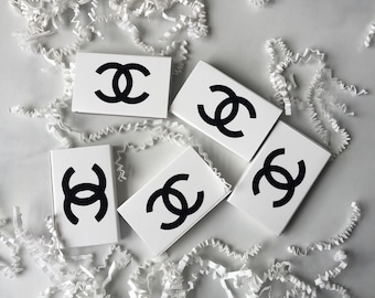 Chanel Inspired Match Box, wedding Match Box, Birthday Match Box, Personal Match Box