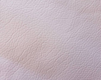 A4 sheet of matte lilac faux textured leather (thin)