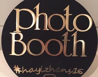 Custom Photo Booth Signage