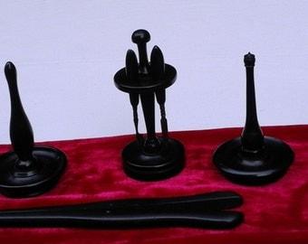 Real  Ebony dressing table set