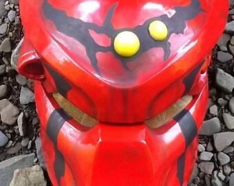 Alien Resin Mask- Costume Bio Helmet