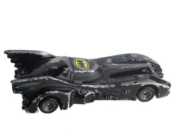ERTL: Batman Batmobile Die Cast Metal Car - 1989