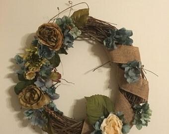 Handmade wreath!