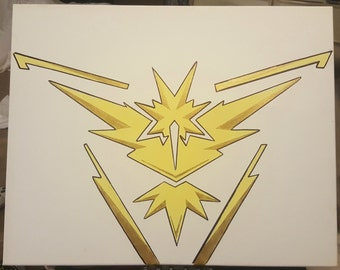 Team Instinct Symbol Canvas Painting