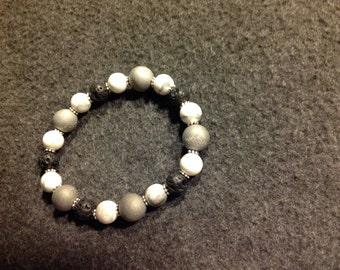 Bracelet- Lava Beads