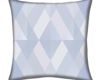 Kaleidoscope Ocean Spray Throw Pillow