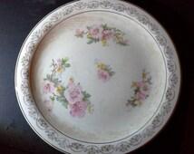 "Antique Crooksville China Co. platter 12.5"""