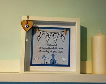 Personalised Christening/Birthday/New Born/Baby Print/Picture/Framed/Christmas/Birthday