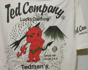 Vintage Ted Company Shirt Lucky Clothing T-Shirt The Legacy Of Devil Soul Tedman
