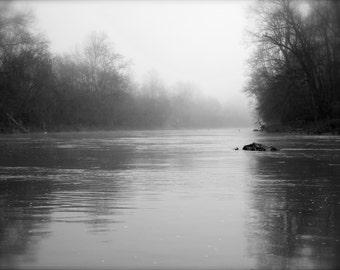 Rivanna River at Dawn Photograph