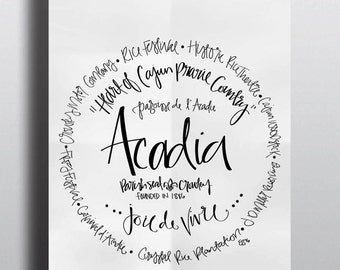 Acadia Parish - Print (8x10)