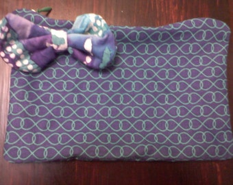 Navy, Green, Purple Change / Makeup / Sunglasses / Purse With Bow