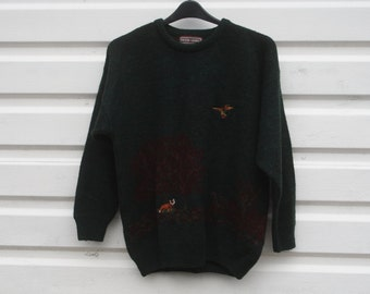 Vintage wool jumper Peter Gribby
