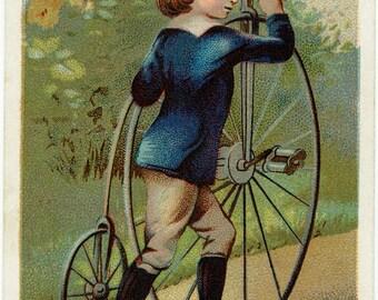 Boy And A Bike