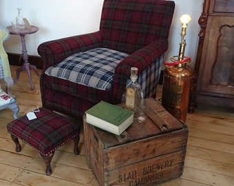 Edwardian Reading Chair
