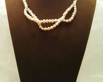 Candy necklace, Pearl necklace made in italy