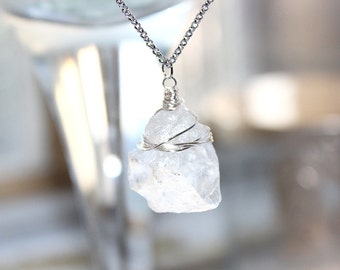 Wire Wrapped Stone Necklace *SALE*