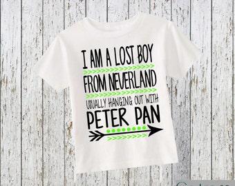 Hipster peter pan costume