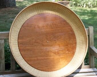 30-inch Nantucket-style basket tray