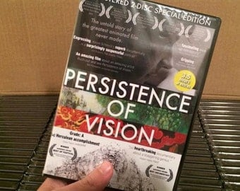 """Educational Edition – 2-Disc """"Persistence of Vision"""" DVD Set"""